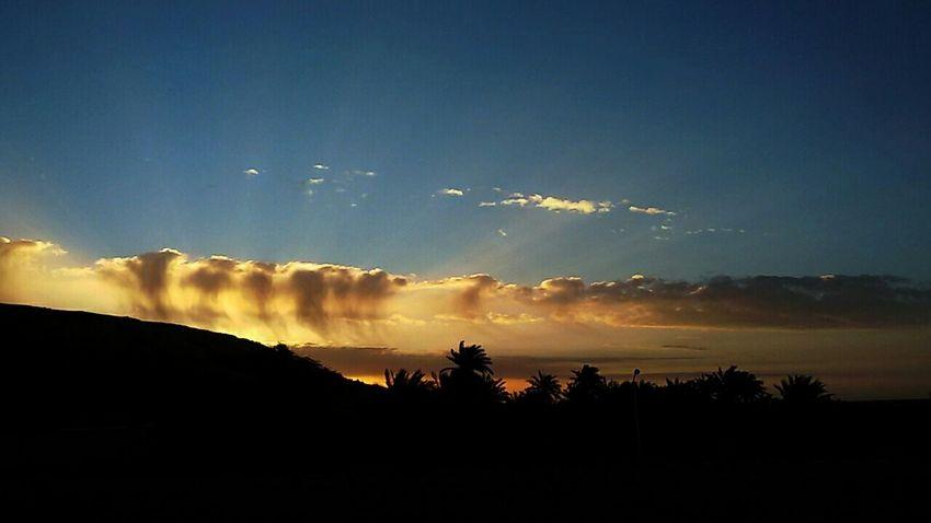 Sky Beautiful Sky_collection Desert Beauty Skyline Sky And Clods Clods And Sky Beautiful Sky Algeria Adrar