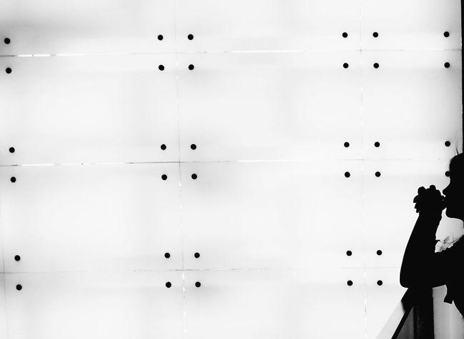 Dots, Singapore. Blackandwhite Dots Dotwork EyeEm Best Shots Home Interior Indoors  Minimlism Open Simplicity Singapore Technology Wall