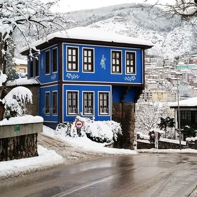Bursa Bursakarmanzarası Bursakar Bursavekar Snowfall Snow Bluehome Bluehouse