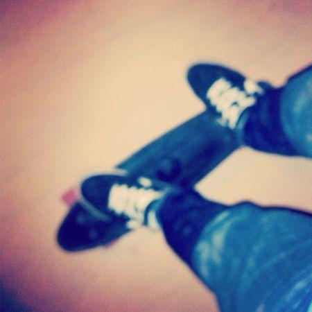 예이~ Enjoying Life Skateboarding Cruiser Board