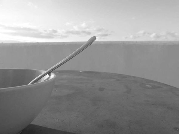 Spoon Kitchen Utensil Eating Utensil Still Life No People Close-up Table Indoors  Day Food And Drink Freshness Household Equipment Focus On Foreground Food Water Cloud - Sky Nature High Angle View Steel
