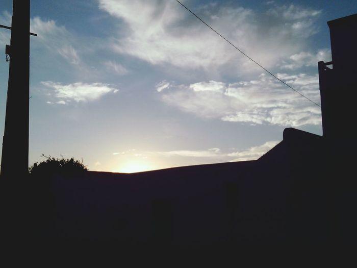 Light And Shadow Silhouette Landscape Eyeemtunisia