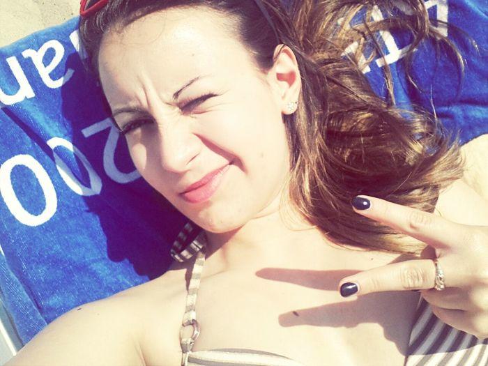 sole in faccia ;) Campomarino 2014 ♥