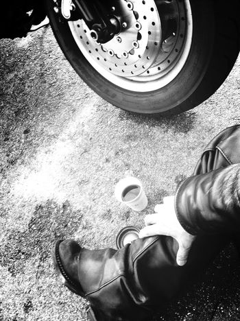 on the road Black And White Photography EyeEm Gallery Motorcycle Bw_ Collection