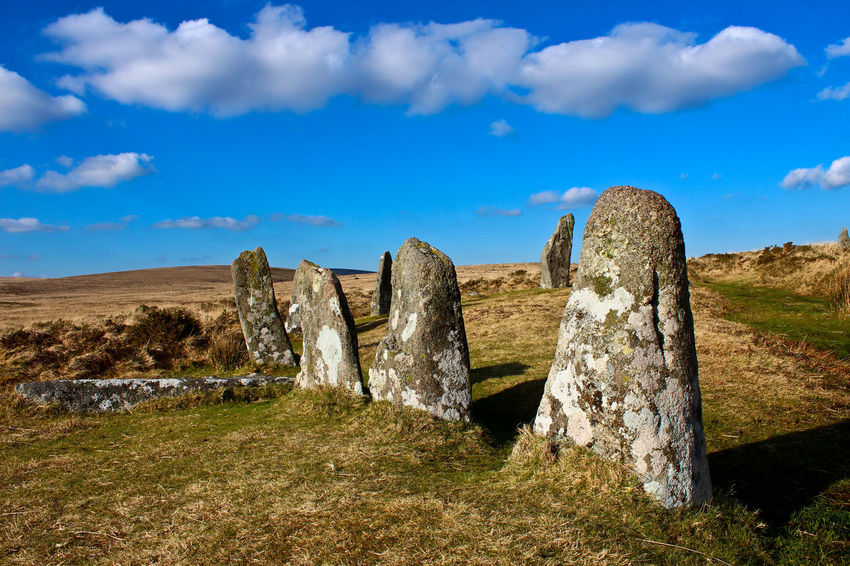 ScoreHill #2 Dartmoor UK Ancient Ancient History Cloud - Sky Cultures Dartmoor Day History Landcape Landscape_photography Nature Outdoors Scenics Scorehill Sky Standing Stones Travel Destinations