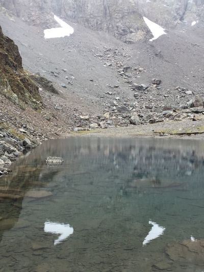 🌏my Life⛩ 🤠my Holidays😎 Trekking Mountain Lake Reflection in the Water