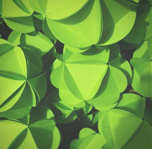 Green Color Paperlanterns Handcrafts