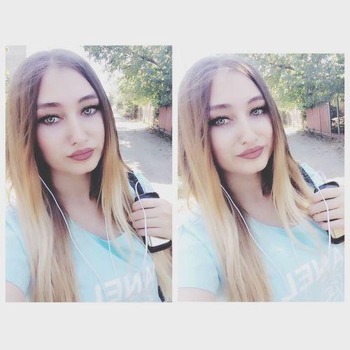 Hello World That's Me Taking Photos Myhair Myeyes Selfie ✌ Followme Smile Follow4follow Green Eyes