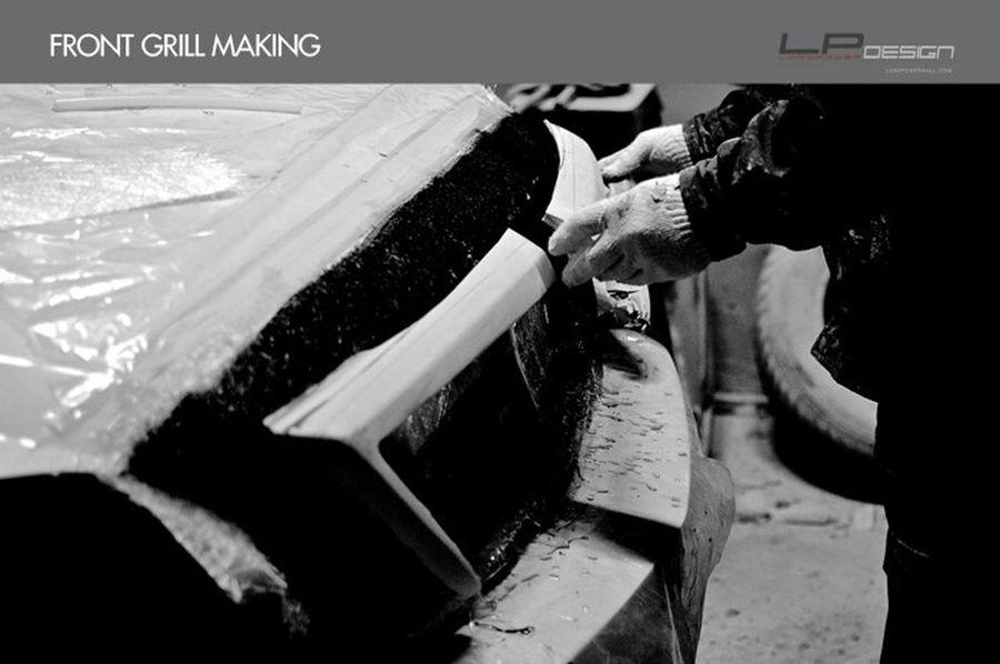 나만의 차를 완성하는 곳_로드파워디자인 LORDPOWER DESIGN Kia Sorento Kia MARQUIS-25T Aeroparts Full Body Kit Front Grill Making