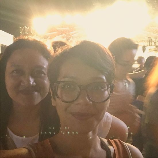 W/ Ririn. Djakarta Warehouse Project 2016 By ITag Djakarta Warehouse Project By ITag DanceMusicFestival By ITag Mobile Upload-Me & Friends