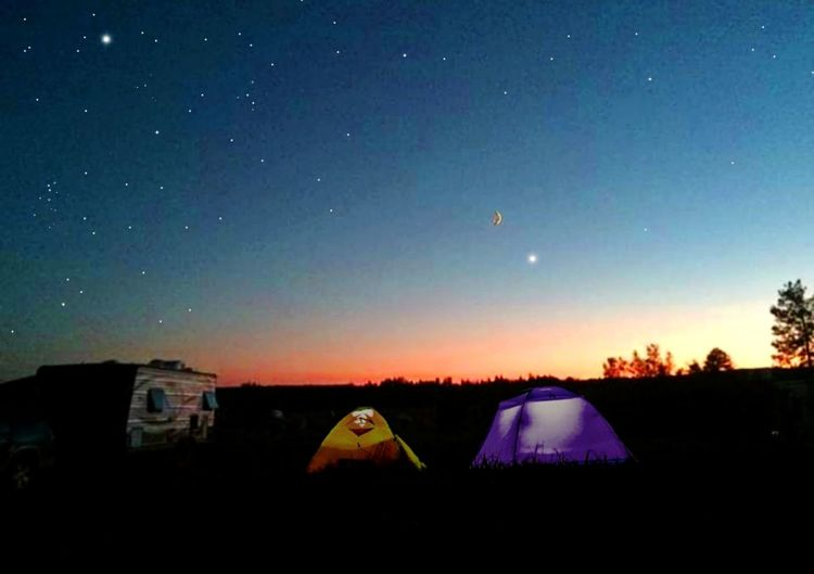 Camping Tents Darkness darkness and light Dusk Sun & Sky Landscape Oregon Sunset Tree Area Growth Astronomy Star - Space Galaxy Constellation Milky Way Moon Science Space House Sky Solar System Space And Astronomy Moon Surface Crescent Half Moon Star Trail Space Exploration Cultivated Land Star Field Astrology