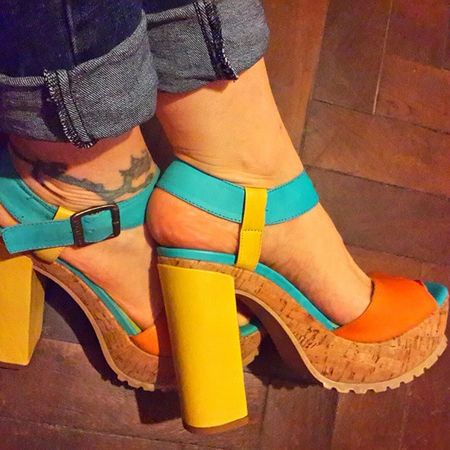 Primavera, calorcito, colores!! Spring Loveshoes Shoes Heels colours fashiondiaries styleoftheday Fashion Forever Shoeselfie