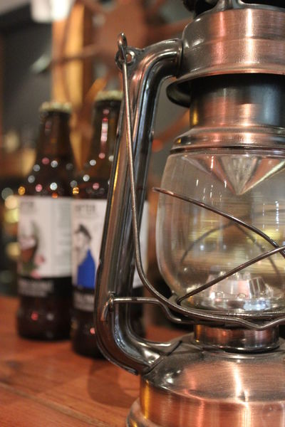 Bar Bar Counter Close-up Counter Draught Draughtbeer Drifter Drifter Brewing Focus On Foreground Glass Lantern Metallic No People Selective Focus Shiny Still Life Lieblingsteil