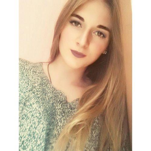 ThatsMe Ootd Blonde Seriousface Deceptively Simple Blonde Hair Enjoying Life Lifeingreece Light Model Picoftheday Sexyeyelook Purple Lipstick 💄🎀💋