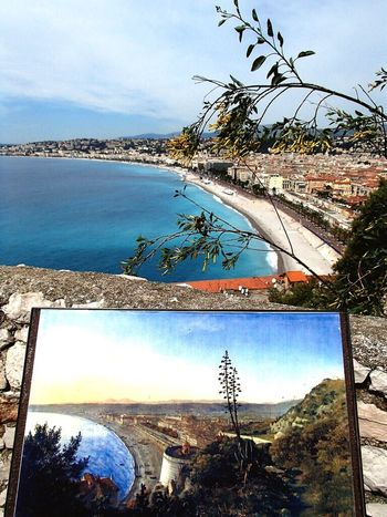 Nice France Nice France Beachphotography Water Sky Tree Built Structure Sea Scenics Beauty In Nature Architecture Outdoors Cloud - Sky Day Palm Tree No People Nature Growth Tranquil Scene Connection Building Exterior Bridge - Man Made Structure Horizon Over Water