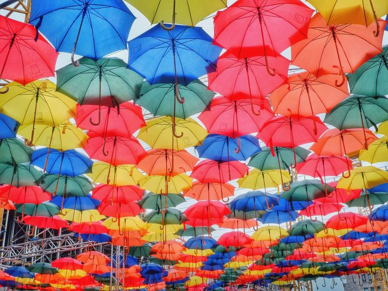 lot of umbrella's Enjoying Life Taking Photos