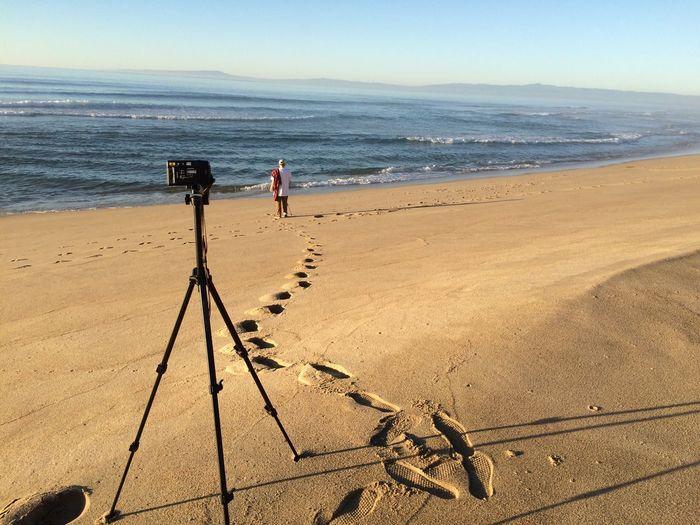Beach Sand California Sunny Day