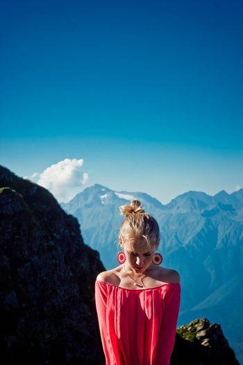 Myself Sochi Mountains Rose Khutor Summer