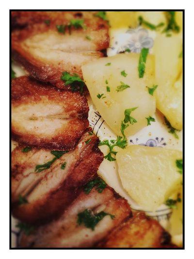 Filets de sardines avec pommes de terre vapeur très bon après le sport 😋 Tadaa Community IPhoneography Iphone6 Le Mans 72