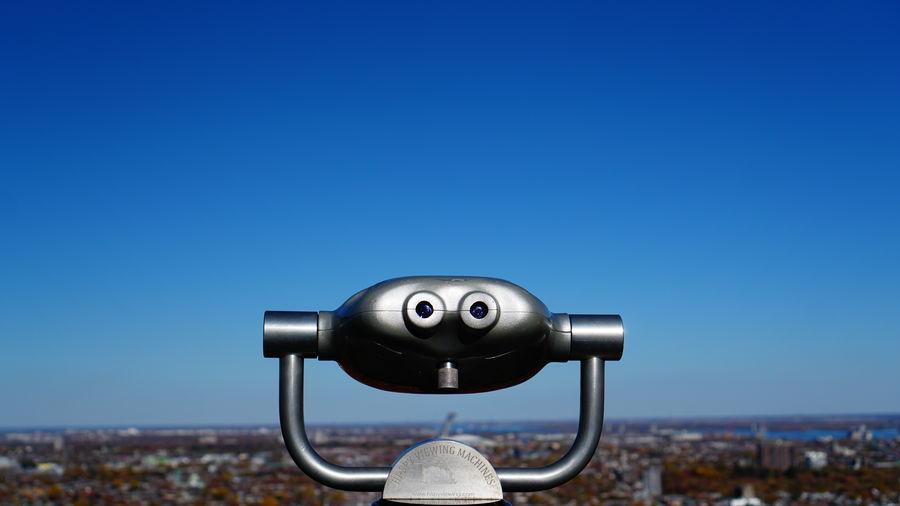 Binoculars Sky