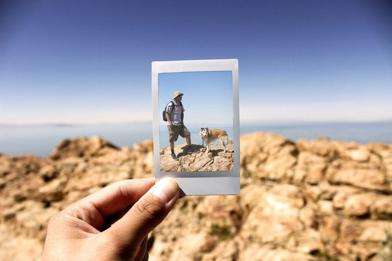 Getting Creative Antelopeisland Utah Utahgram Fuji Instax Instax Poloroid Wolfeeee