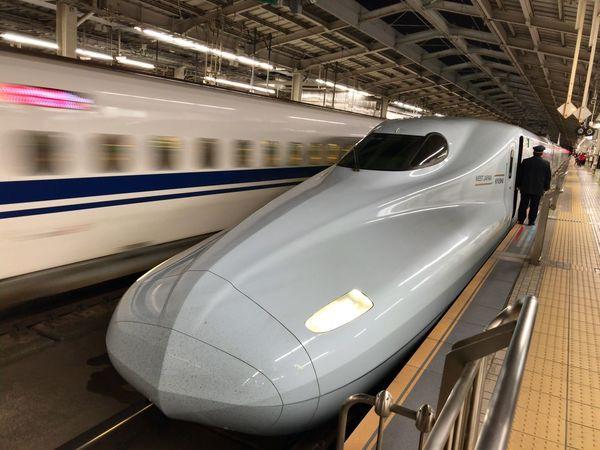 山陽・九州新幹線 さくら SuperExpress SAKURA LPhoneography Transportation Mode Of Transport Blurred Motion Public Transportation Motion Travel Speed