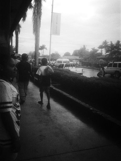 Freelance Life typical rainy afternoon in Lae, PNG