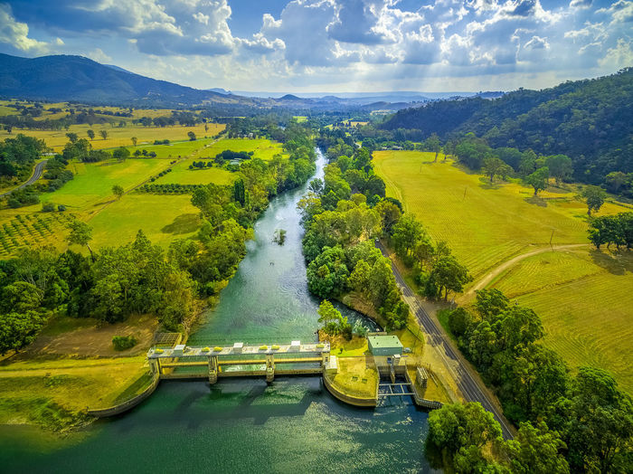 Aerial landscape of Goulburn River. Eildon, Victoria, Australia Australia Australian Landscape Beautiful Drone  Goulburn River Panorama Panoramic Scenic Aerial Aerial Landscape Aerial View Beauty In Nature Cloud - Sky Countryside Dam Day Drone Photography Eildon Green Color High Angle View Lake Lake Eildon Landscape Melbourne Mountain Mountains Nature No People Outdoors River Scenics Sky Tranquil Scene Tranquility Transportation Tree Water