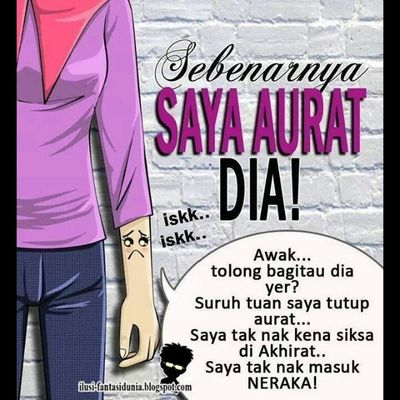 :) Salam Jumaat everyone.... Dear sisters.... Lets recheck our Ootd *Is it covering the WHOLE aurat? ;) Addin Productivemuslims Muslimat aurat almightybless