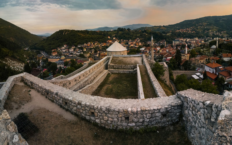 EyeEm Selects Ancient Architecture History Cloud - Sky Outdoors No People Travel Destinations Sky Day Ottoman Architecture Castle Old Buildings Travnik Old City Architecture
