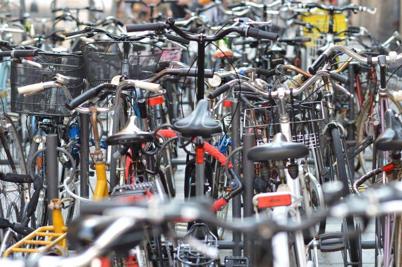EyeEmNewHere Detail Close-up Bicycle Shop Transportation