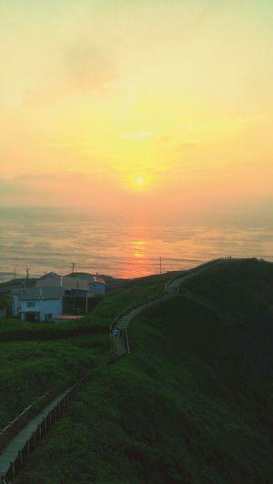 Cape Erimo, Hokkaido JAPAN Point Erimo Erimo Cape Erimo Sun Rise