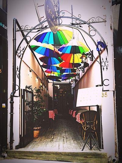 Umbrella Colors Hello World Relaxing EyeEm Best Edits The Week Of Eyeem Photooftheday EyeEmBestPics Popular Photos Eyeemphotography EyeEm Best Shots EyeEm Turkey Istanbul Beyoğlu Istanbul Turkey Huzur Rainbows