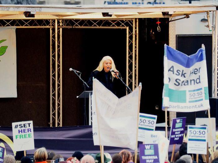 Womens March. London. 19/01/2019 LONDON❤ Equality Womens March Womens March 2019 Womens March London Protesters Protest London News Stevesevilempire Steve Merrick OM-D Olympus Women Adult Real People Communication Men Senior Adult Lifestyles