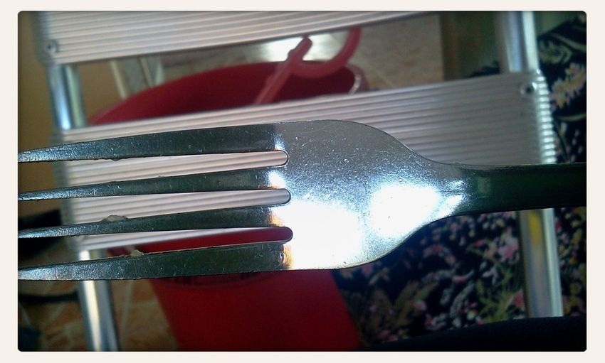 Eating Yummy Food With This Fork