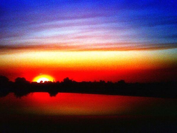 Sunset Landscape Enjoying The Sun Enjoying The View Enjoying Life Digital Holga