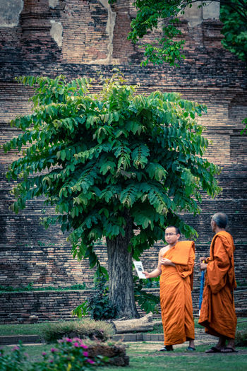 Two buddhist