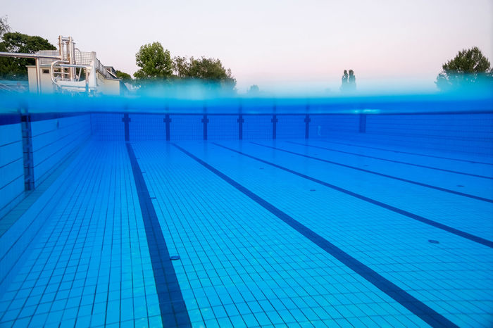 swiming pool Blue Clear Day Deep Free Hotel Lines No People Outdoors Path Pool Sport Summer Summertime Swiming Swimming Pool Underwater Water