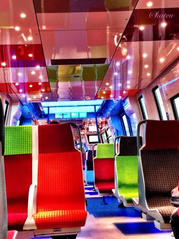 Couleurs transilien On The Train Sncf Vivid Colours  Transilien