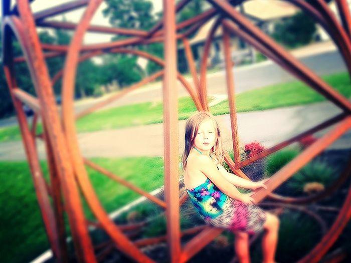 Enjoying Life Taking Photos Park Time My Daughter Chillin