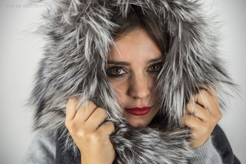 ...fur everywhere! Fashion Fine Art Photography Fur Grey Italy Mode Model Portrait Sanremo Unnodoconstile
