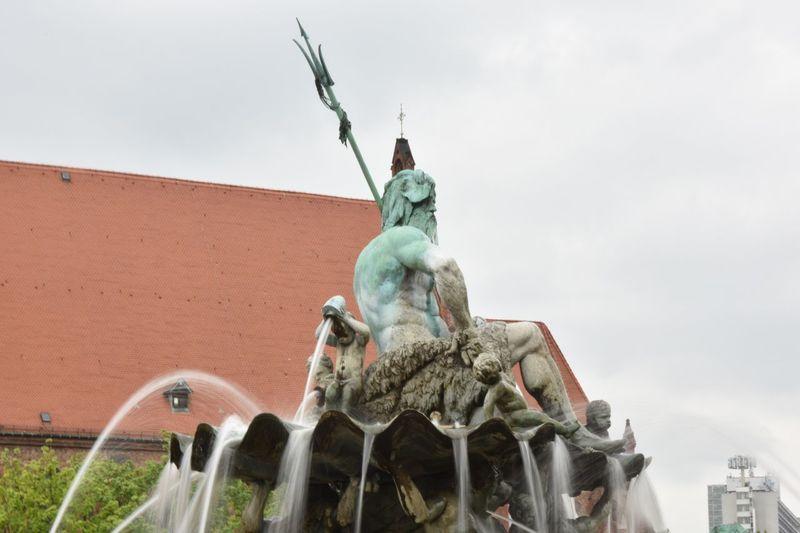 Neptune Fountain Berlin Alexanderplatz