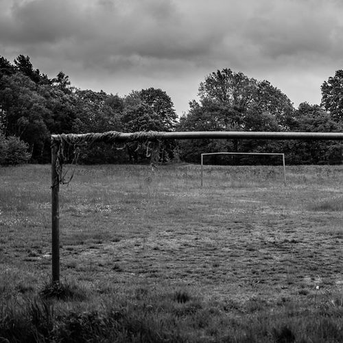 An empty and forgotten football ground which has not seen any combatants in a long time. #nikon #d5200 #footballground #cloudy #sadness #lonelyness #fearofforgetting Cloudy Nikon Sadness Lonelyness D5200 Footballground Fearofforgetting