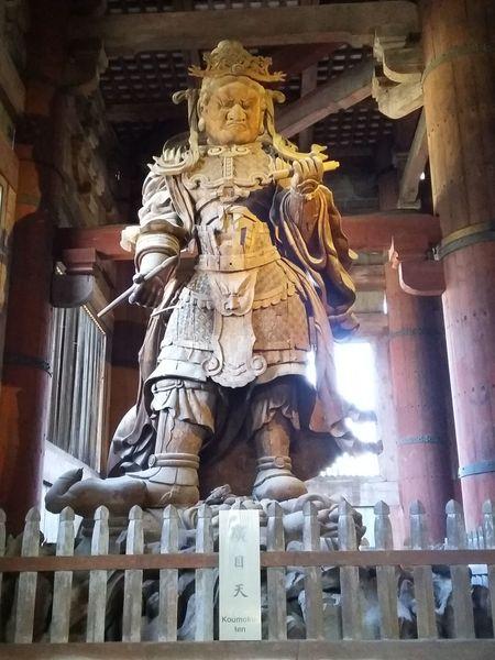 Koumokuten, Todaiji, Nara. Big Statue Cultures Deity Nara Nara,Japan Religion Statue Todai-Ji Todaiji