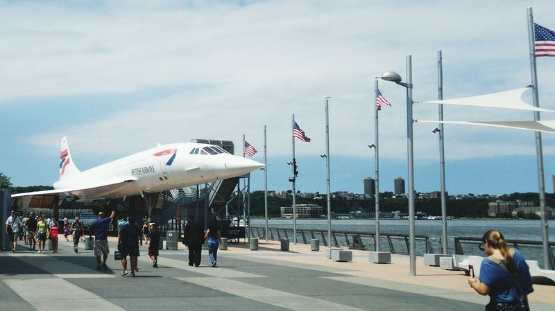 Intrepidseaairspacemuseum New York City Englishmaninnewyork United States EUA Intrepid Aviation Aviationphotography Concorde British Airways
