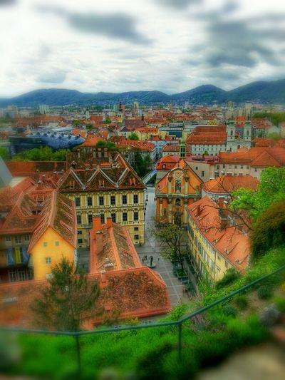 Over the roofs of Graz Walking Around Cityscapes Beautiful City
