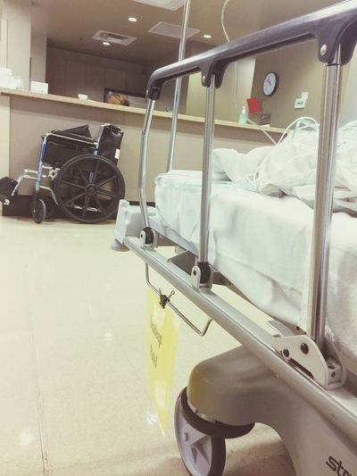 Healthcare And Medicine Hospital Wheelchair Recovery Room Intensive Care Unit
