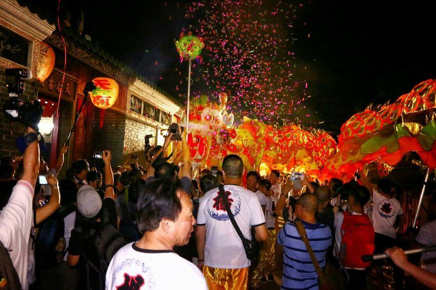 元朗十八鄉楊屋村金龍开光 Chinese Dragon Dance Light And Shadow Light And Shadows Night Lights Night Photography Yeung Uk Tsuen Yuen Long Hong Kong Cities At Night
