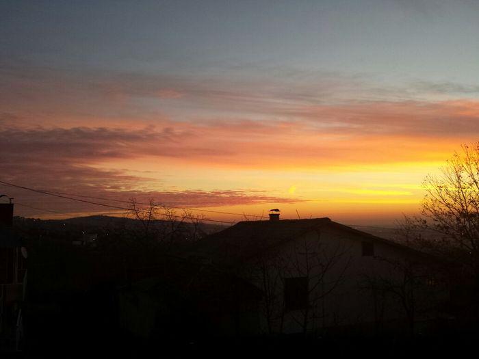 Sunrise in Podvinje