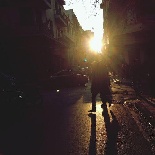 Urban Sunset Streetphotography